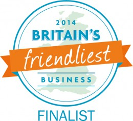 Britains Friendliest Business Finalist